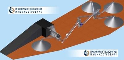 Дробильно-сортировочный комплекс гранита в Новосибирской области для железнодорожного щебня, производительность 250 т час