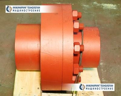 Муфта привода мельницы