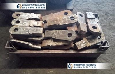 Молотки дробилки молотковой черт. № 63021