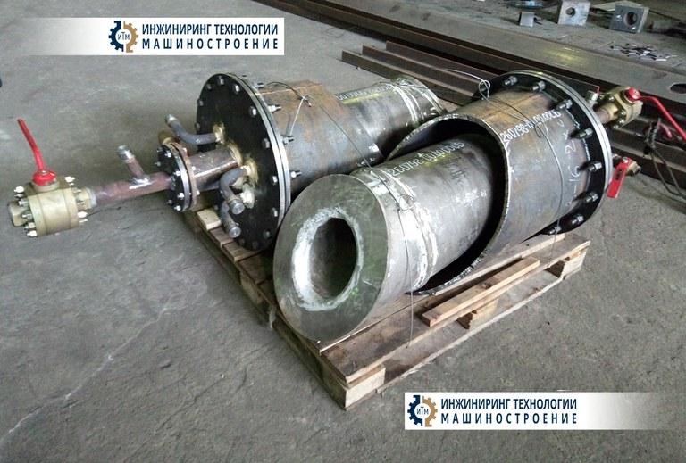 Установка фурм для отбора статической мощности 260798-00.00.00СБ