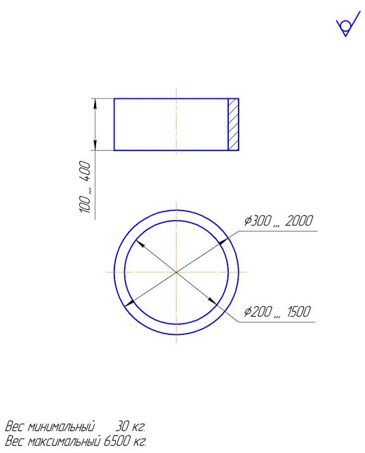 Поковка-возможная геометрия детали типа «кольцо»