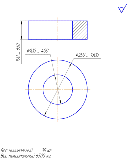 Возможная геометрия поковок детали типа «шестерня»